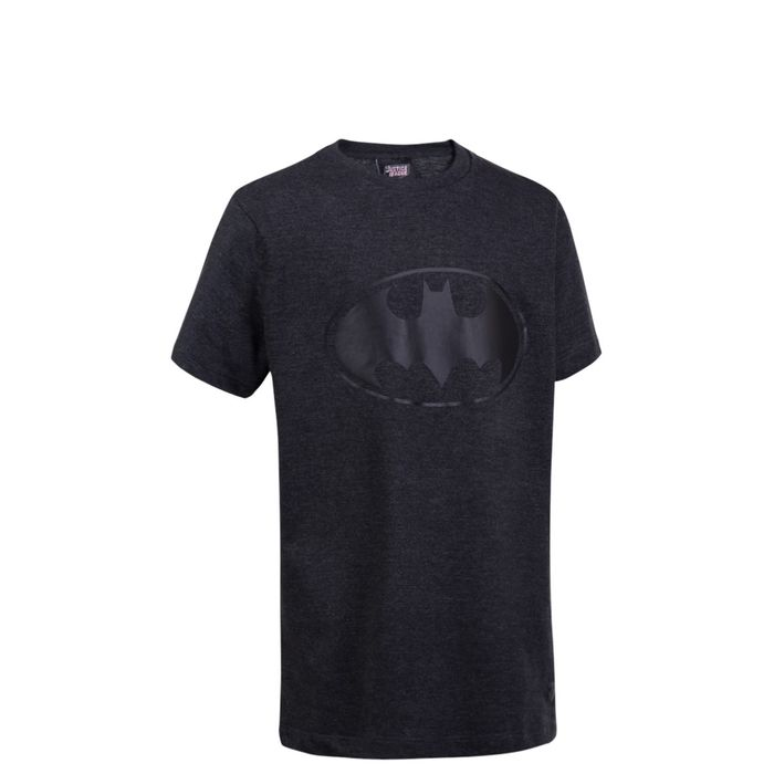 T-SHIRT-MC-SH-BATMAN-NEGRO-MELANGE---NEG